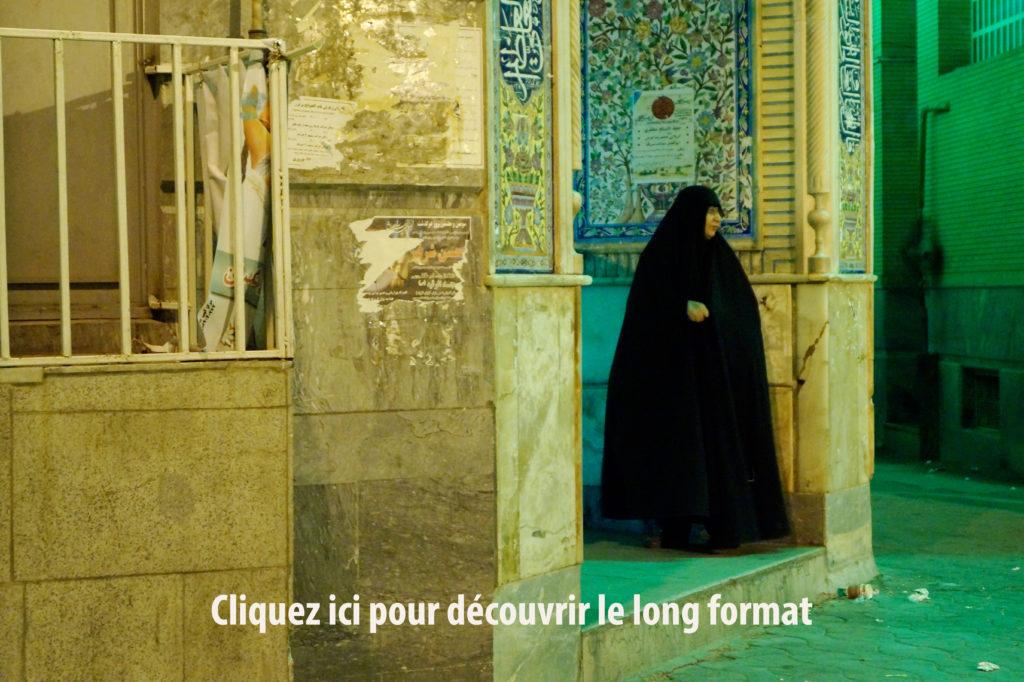 Iranienne en hijab