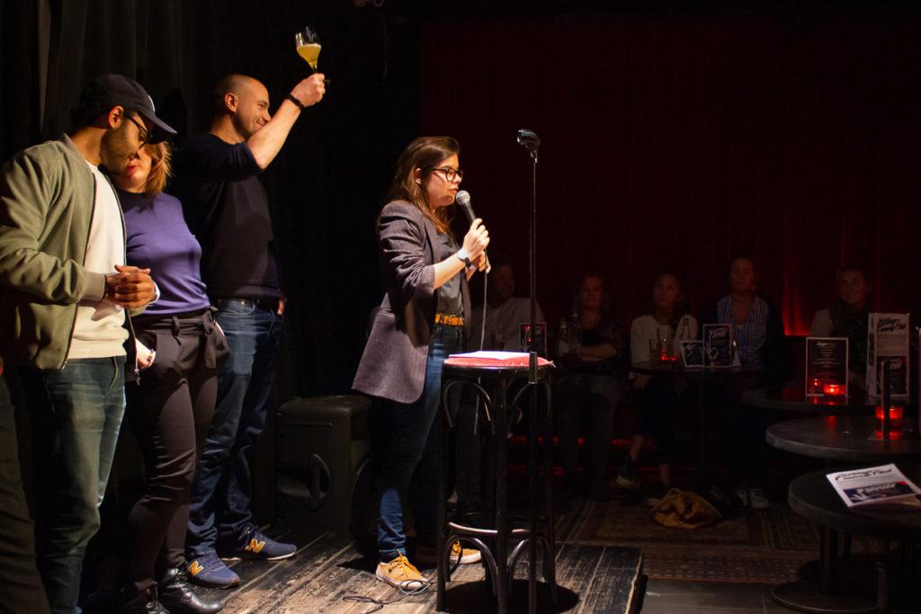 Fanny Ruwet au Kings of Comedy Club