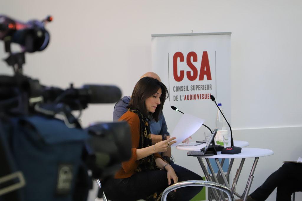 Saba Parsa, première vice-présidente du Conseil Supérieur de l'Audiovisuel