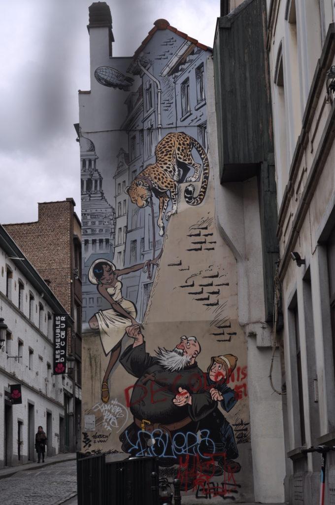Fresque murale Odilon Verjus