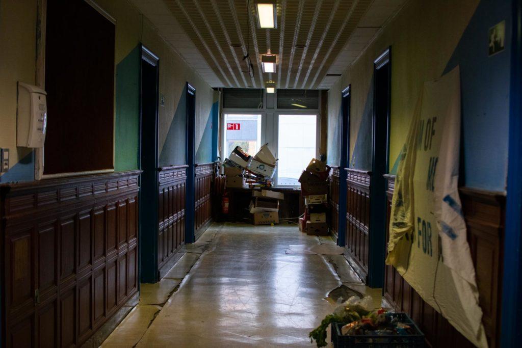 Couloir de l'immeuble
