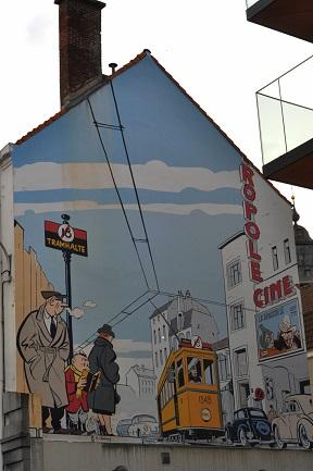 Fresque murale, Le Jeune Albert