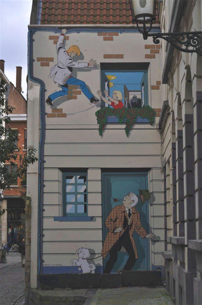 Fresque murale Ric Hochet