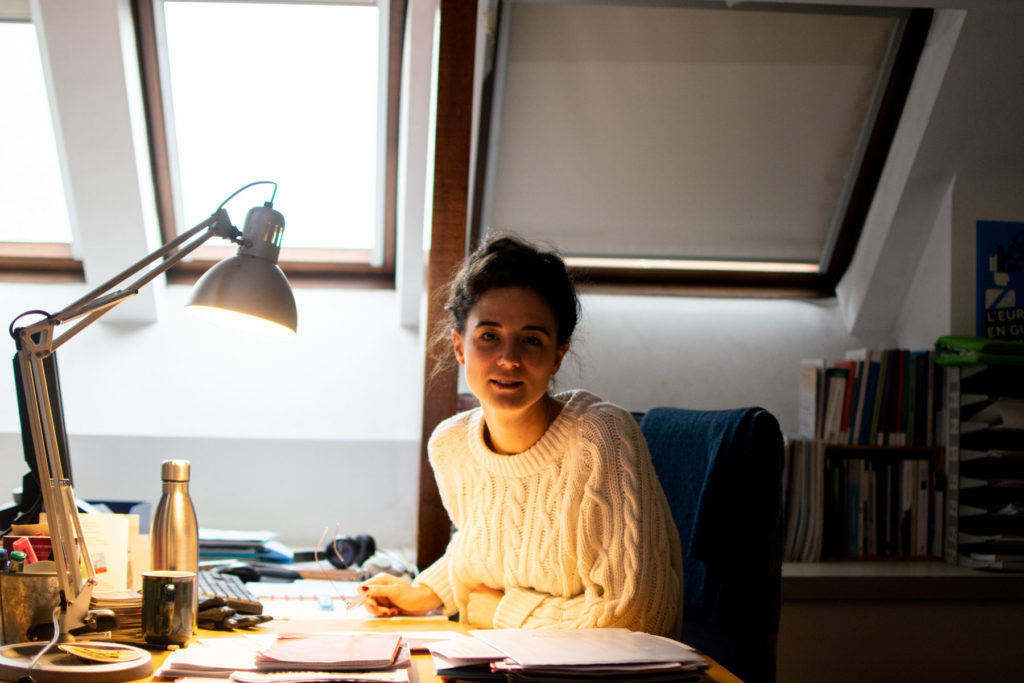 Claire-Marie Lievens, Ligue des droits humains