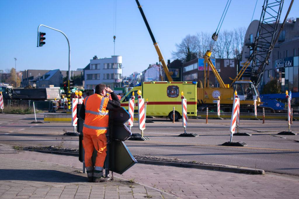 Les ouvriers de BAM Contractors ont reçu des exigences strictes afin de finir les travaux à temps