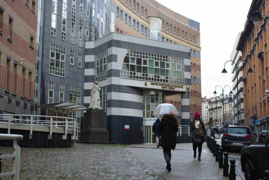 L'hôpital Saint-Pierre de Bruxelles, ancienne léproserie au coeur des Marolles.