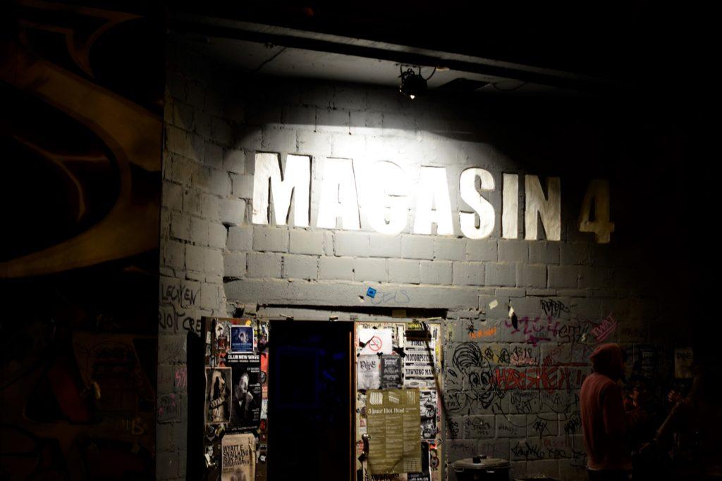 L'entrée du Magasin4