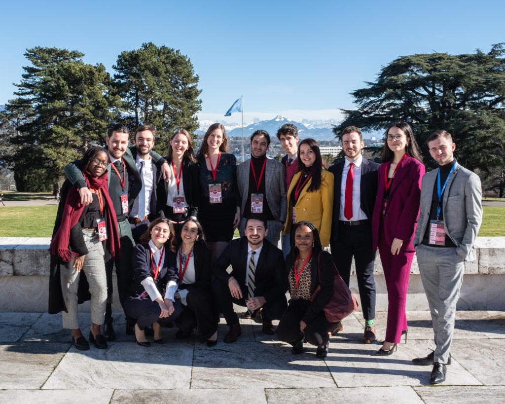 Délégation de l'ULB au GIMUN 2020