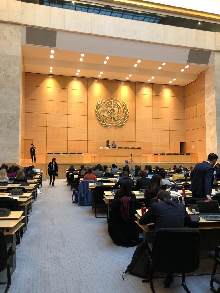 Assemblée d'ouverture du GIMUN 2020
