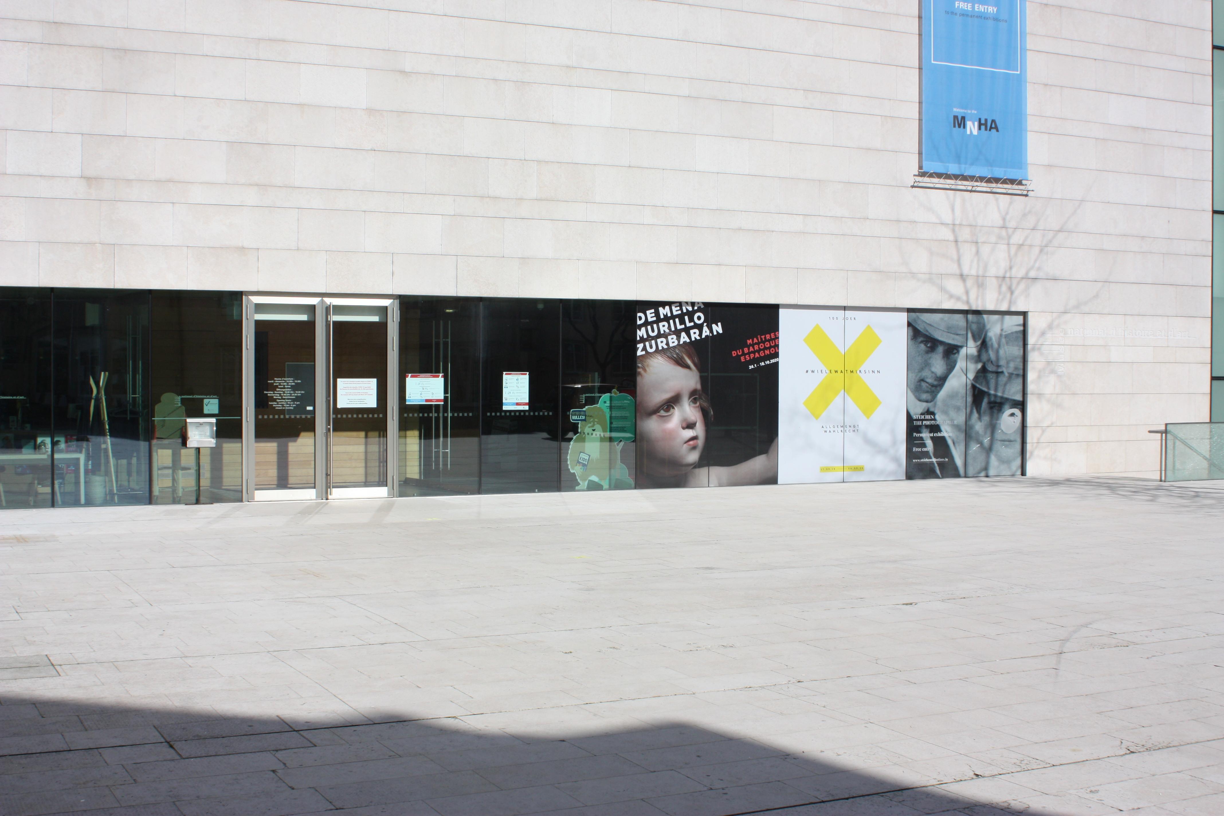 musée Luxembourg-Ville fermé pour cause corona
