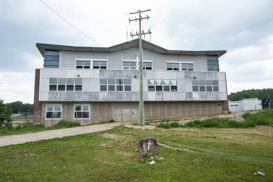 Ecole du village de Manawan, communauté autochtone
