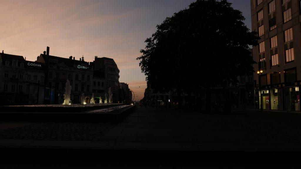 couché de soleil Bruxelles