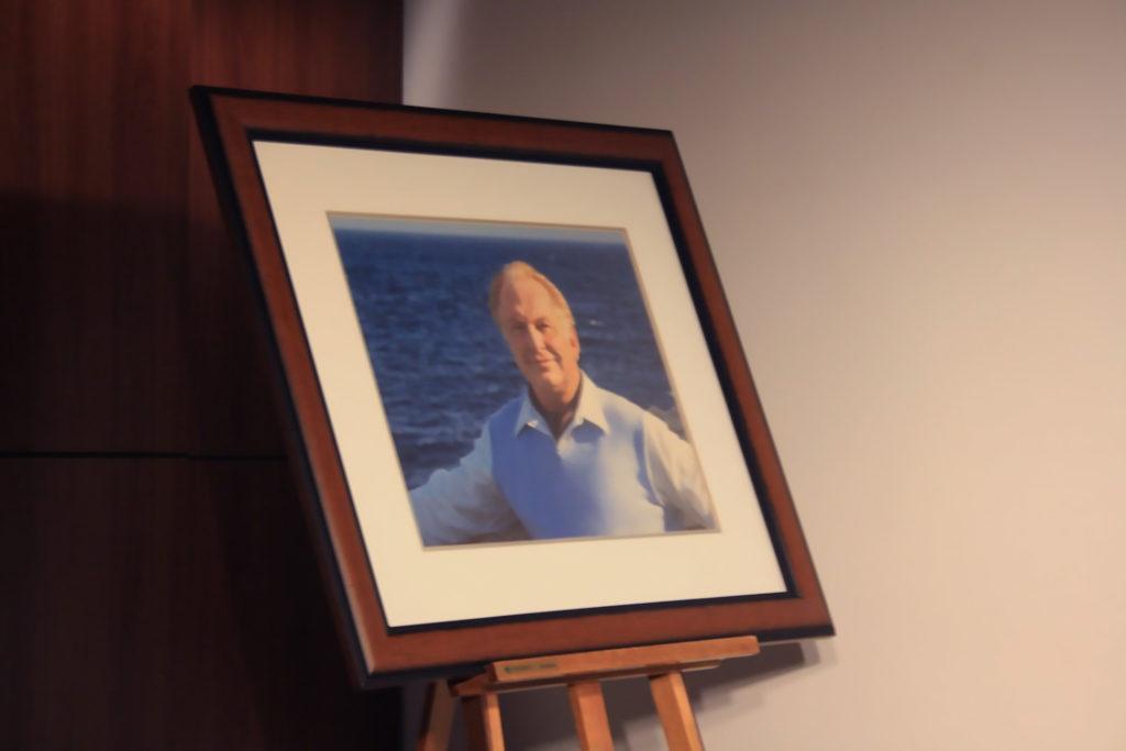 L. Ron Hubbard portrait