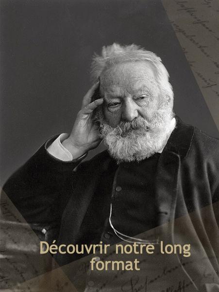 Victor Hugo photographié par Nadar modifié
