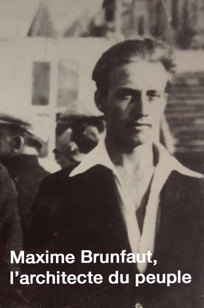 Maxime Brunfaut dans sa jeunesse