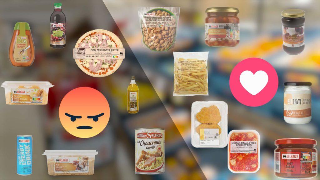 Classement par une diététicienne d'aliments